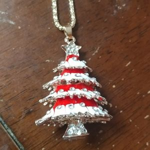New Christmas tree necklace